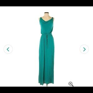 Mossimo | Teal Cowl Neck Maxi Dress | Medium